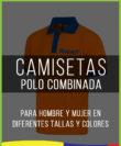 Camisetas Polo combinada 001